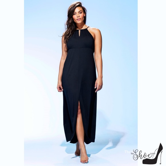 Swimsuits For All Other - High-neck Keyhole Swim Cover Up
